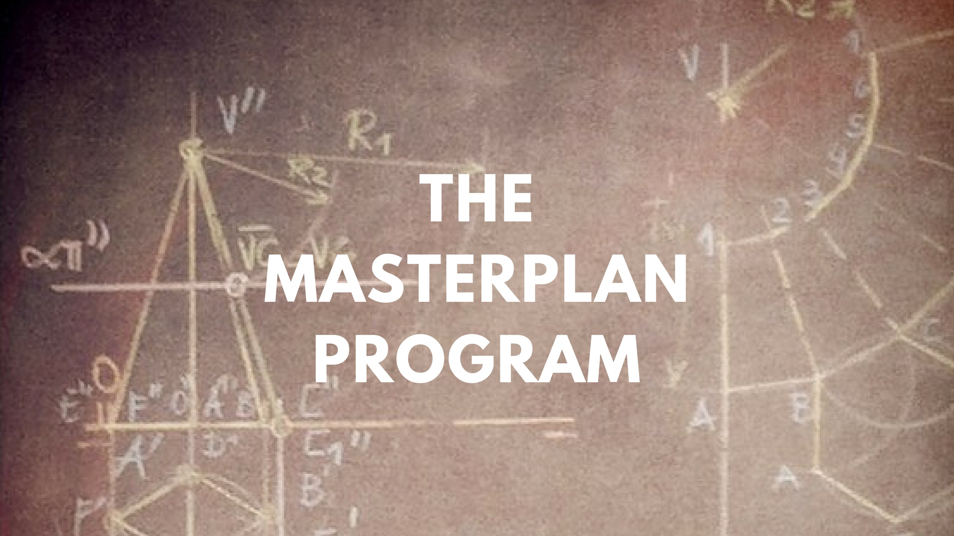 Poster for the program The Career MasterPlan