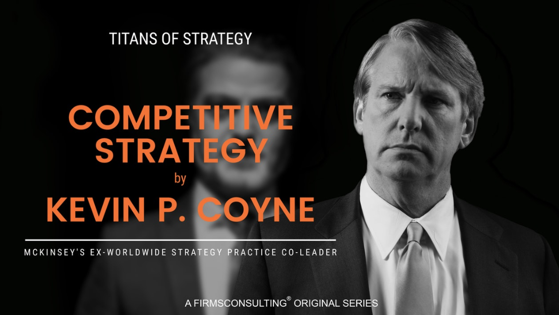 Poster of Competitive Strategy with Kevin P. Coyne